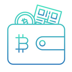Store your cryptocurrency in a wallet